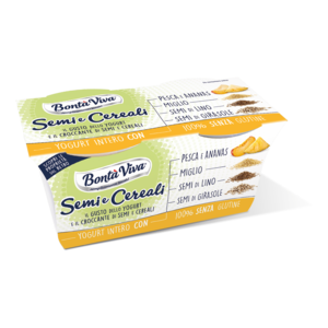 Yogurt Semi e Cereali Pesca-Ananas Bontà Viva 2x125g.png