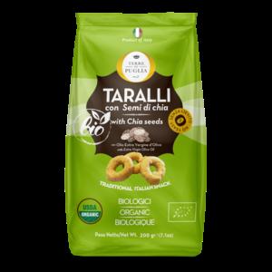 Terre di Puglia Organic Tarali with Chia Seeds
