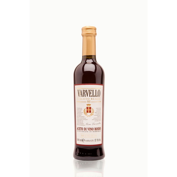 AGED in barrique red wine vinegar - 500 ml - High-end - front label.jpg