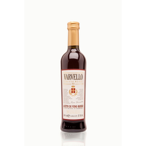 AGED in barrique red wine vinegar - 500 ml - High-end - front label.jpg