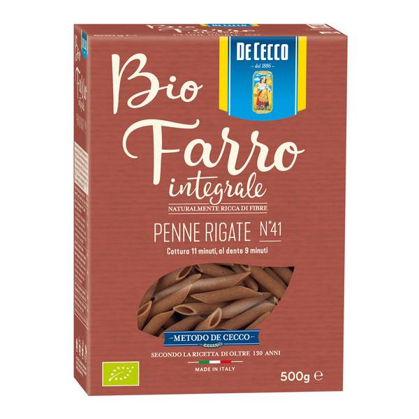 Penne Rigate Bio Farro Integrale De Cecco