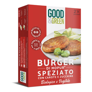 Good&Green Spicy Burgers