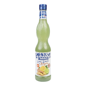 Syrup Lime,Lemon and Ginger