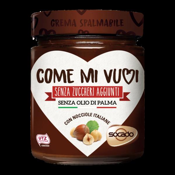 Come Mi Vuoi Spread Cream Without Added Sugars